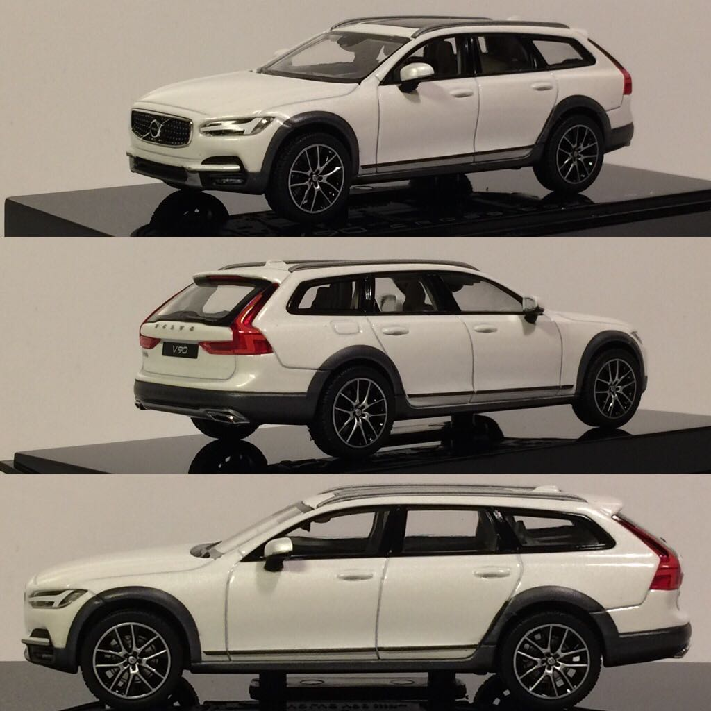 Volvo V90 CC Toy Car, Die Cast, And Hot Wheels