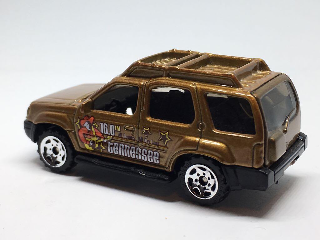 Nissan Xterra Toy Car Die Cast And Hot Wheels Matchbox 2002
