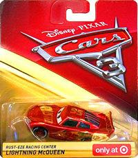 Cars Rust Eze Racing Center Lightning Mcqueen Toy Car Die Cast