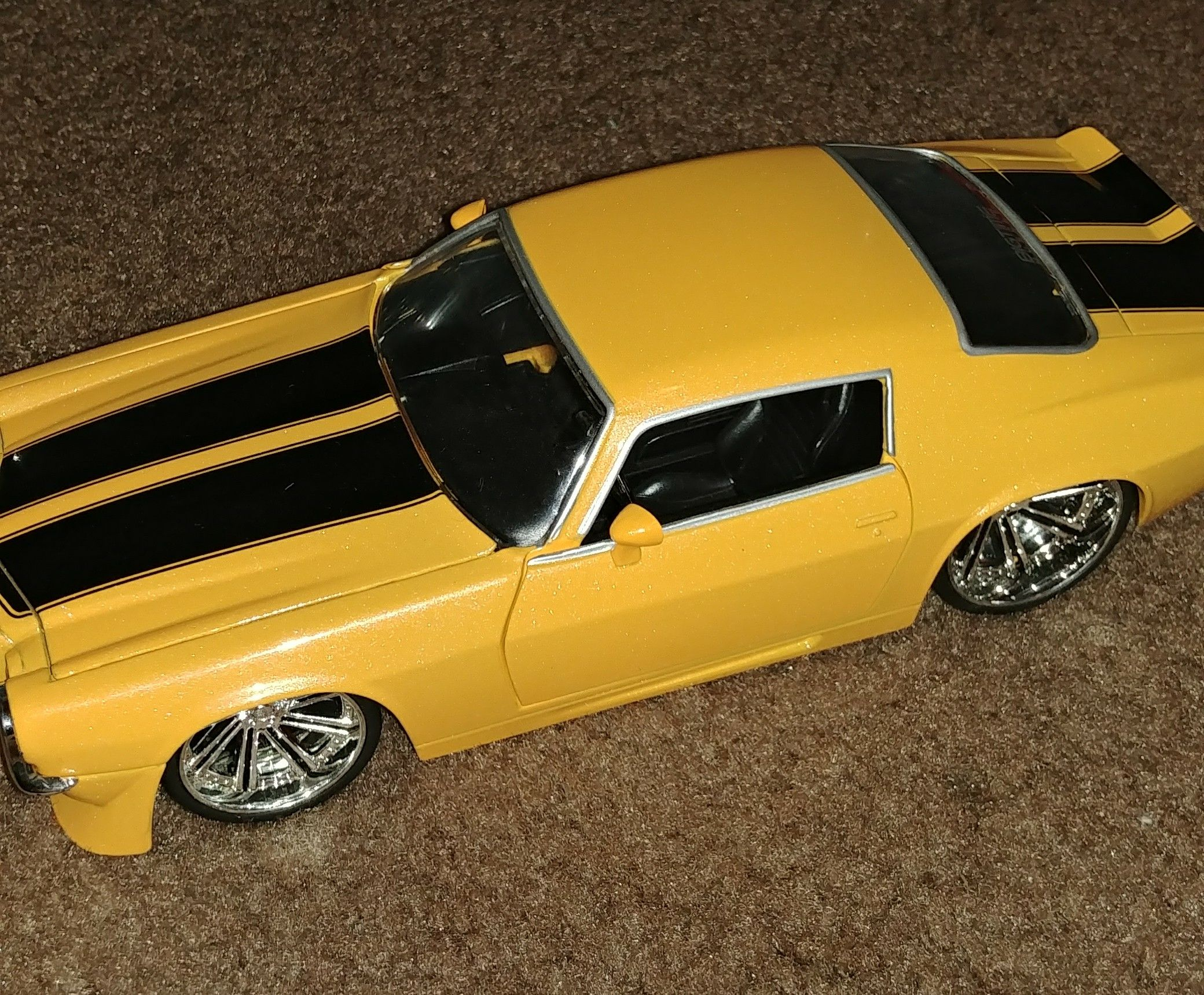 1971 Chevy Camaro Toy Car Die Cast And Hot Wheels Jada Toys