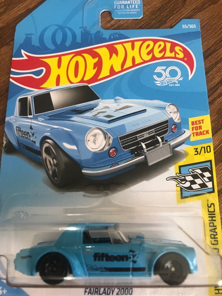 HOT WHEELS 2018 FAIRLADY 2000 HW SPEED GRAPHICS 3//10 FJW43