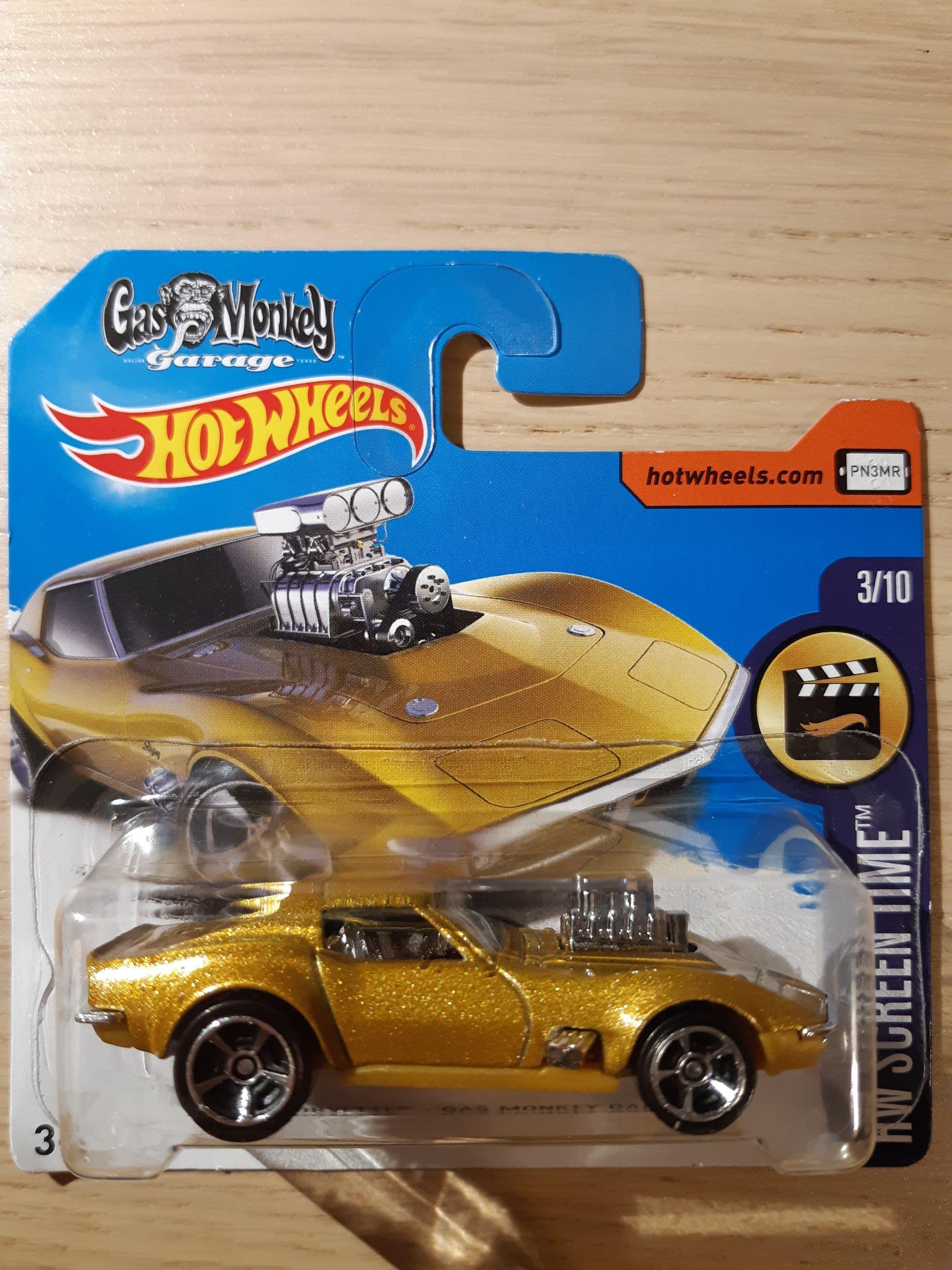 Corvette '68 Gas Monkey Garage Toy Car, Die Cast, And Hot