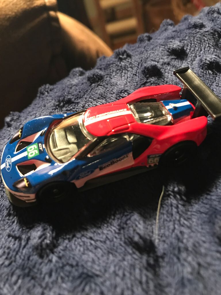 2016 Ford GT Race #66 Toy Car, Die Cast, And Hot Wheels - Hot Wheels (2018) front image (front cover)