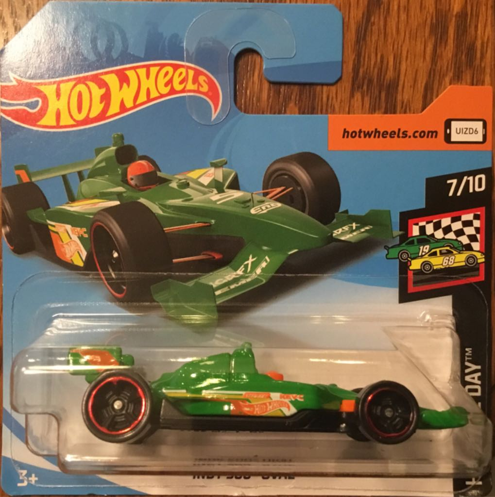 Indy 500 Oval Toy Car, Die Cast, And Hot Wheels - Indy 500 Oval (2019) front image (front cover)