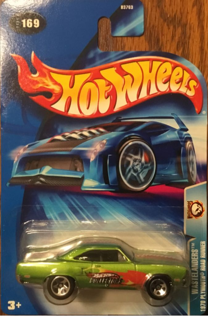 1970 Plymouth Road Runner Toy Car, Die Cast, And Hot Wheels - 1970 Plymouth Road Runner (2004) front image (front cover)