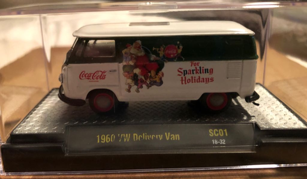 Volkswagen Delivery Van '60 Toy Car, Die Cast, And Hot Wheels front image (front cover)