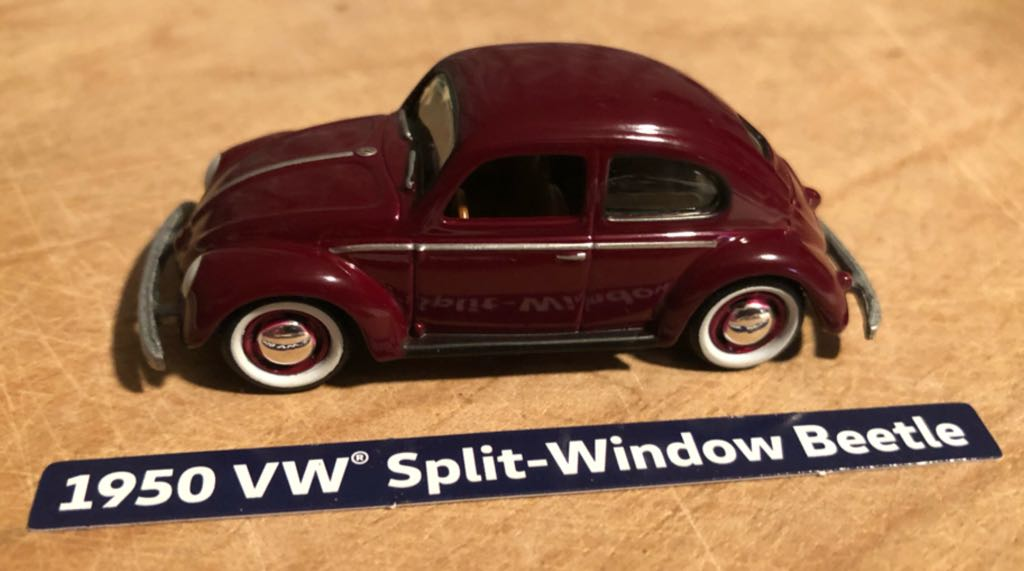 Volkswagen Beetle Split-Window '50 Toy Car, Die Cast, And Hot Wheels front image (front cover)