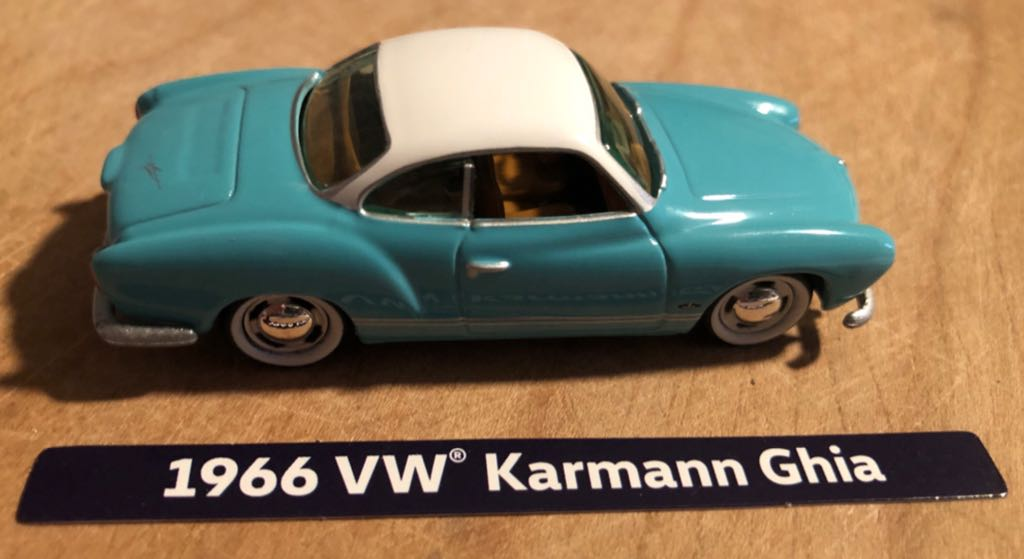 Volkswagen Karmann Ghia '66 Toy Car, Die Cast, And Hot Wheels front image (front cover)
