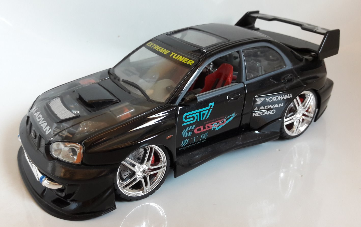 Subaru Impreza STI Toy Car, Die Cast, And Hot Wheels front image (front cover)