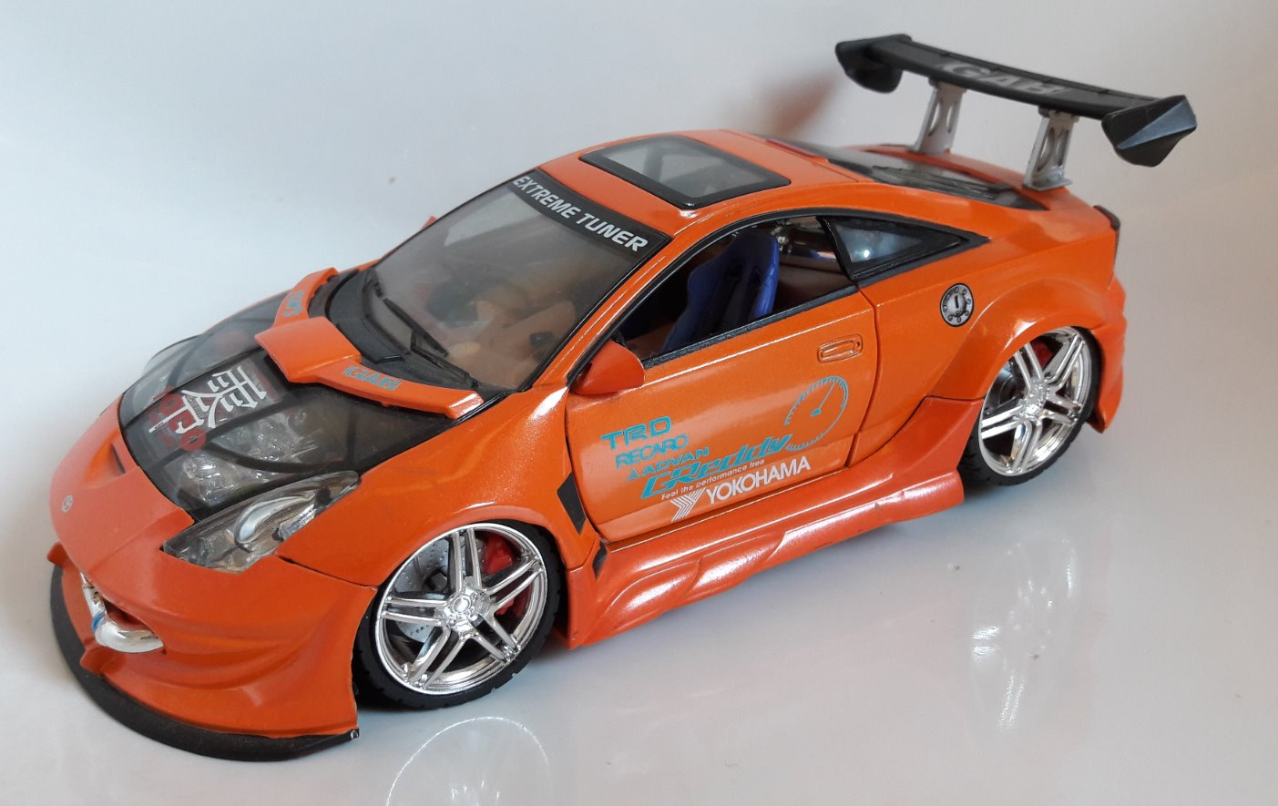 Toyota Celica Toy Car, Die Cast, And Hot Wheels front image (front cover)