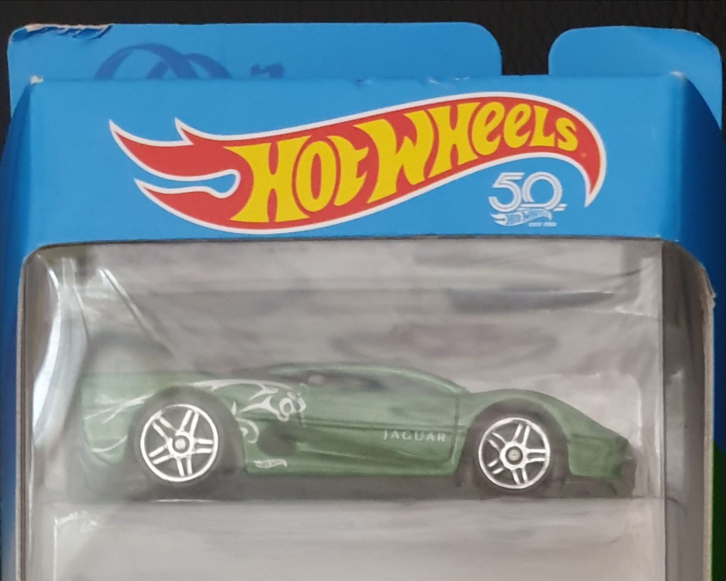 2018 HW Exotics 5 Pack : Jaguar XJ220 Toy Car, Die Cast, And Hot Wheels (2018) front image (front cover)