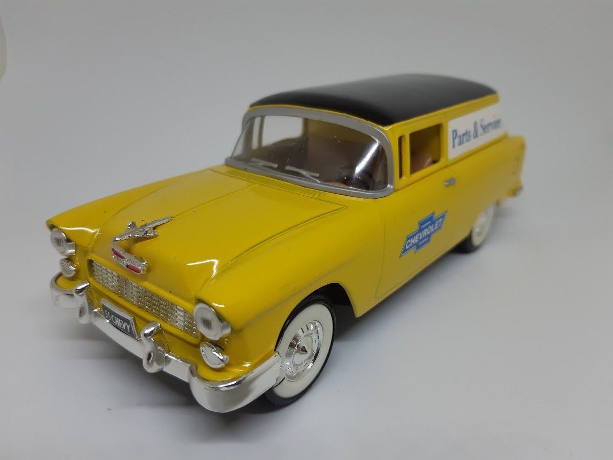 Chevrolet Bel Air Nomad Toy Car, Die Cast, And Hot Wheels - Parts & Services (1957) front image (front cover)