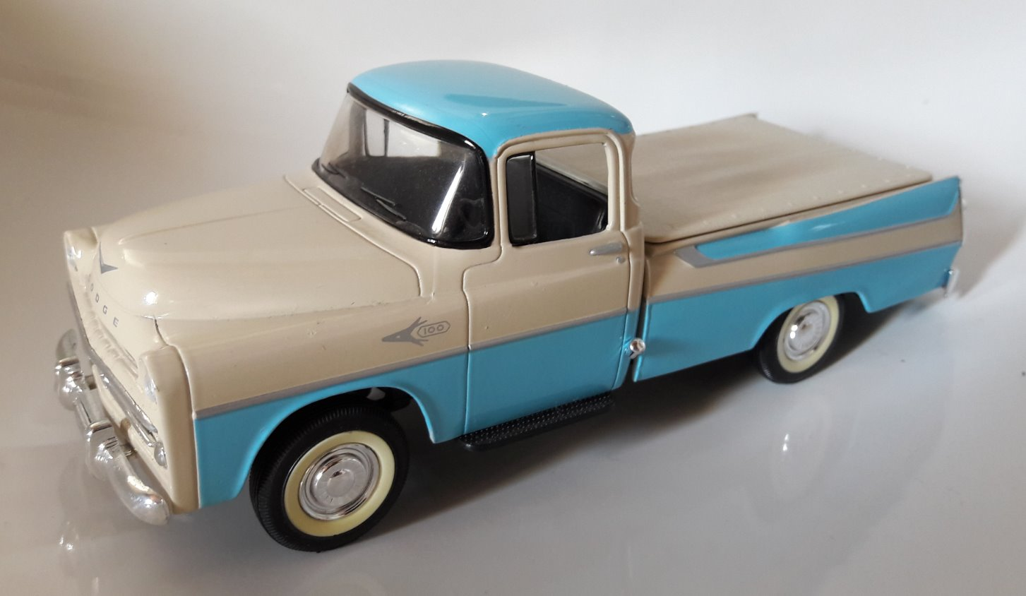 Dodge Pick-Up Toy Car, Die Cast, And Hot Wheels (1957) front image (front cover)