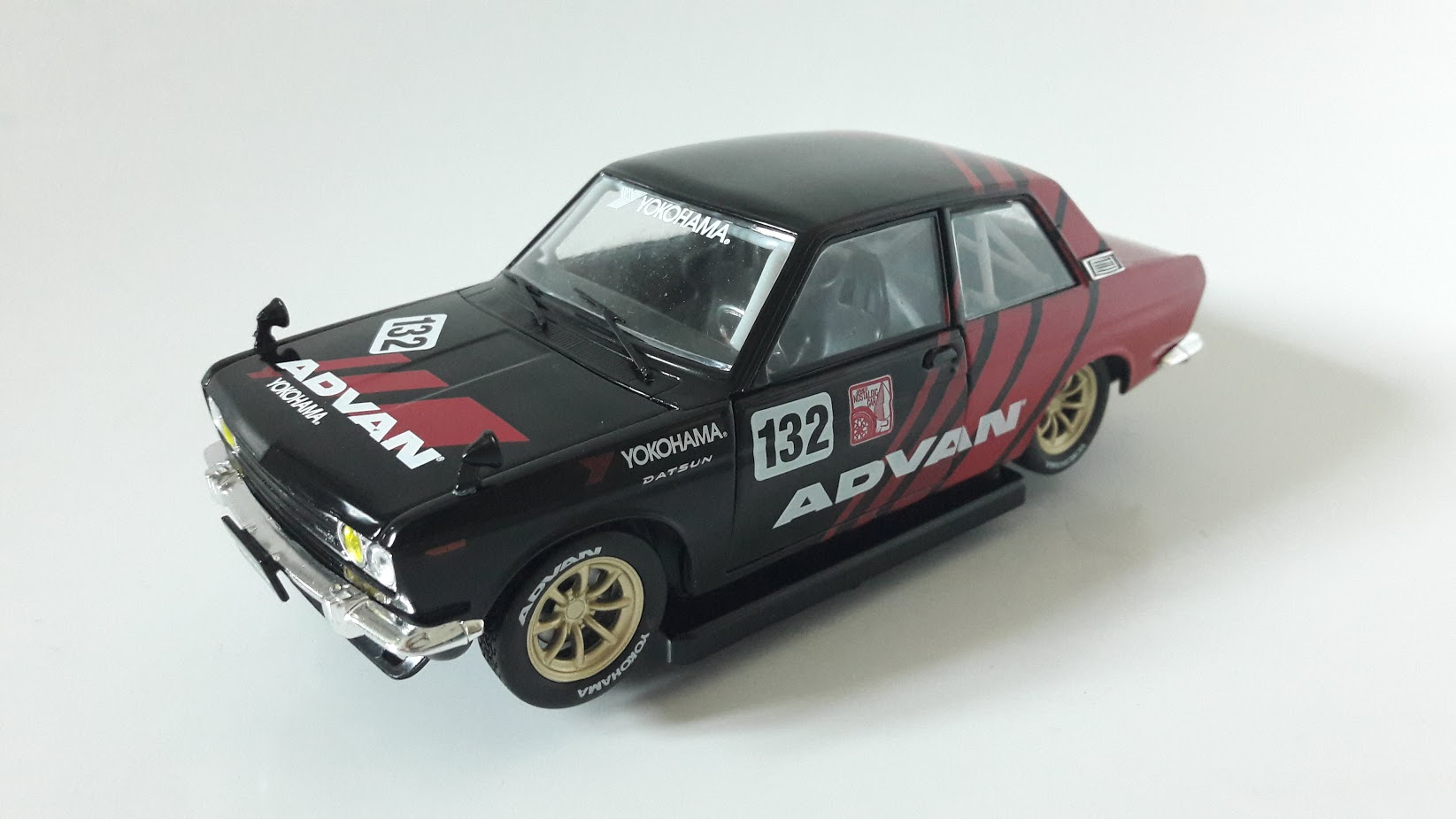 Datsun 510 Toy Car, Die Cast, And Hot Wheels - Japan version (1970) front image (front cover)