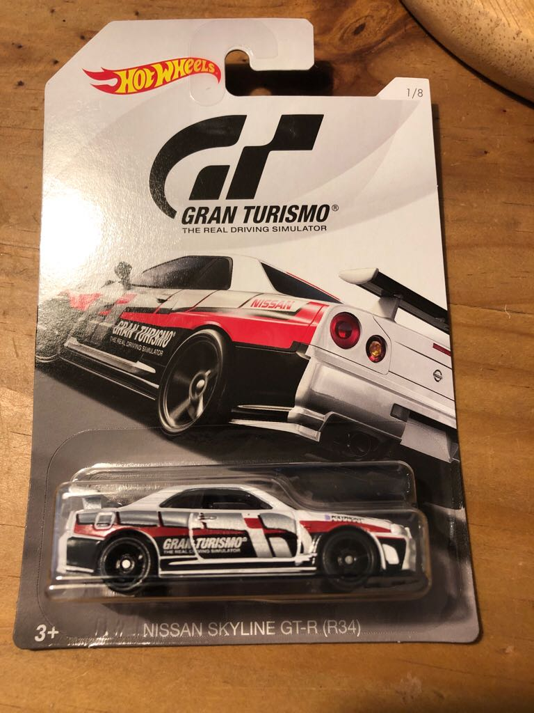 Gran Turismo 1/8 Toy Car, Die Cast, And Hot Wheels front image (front cover)
