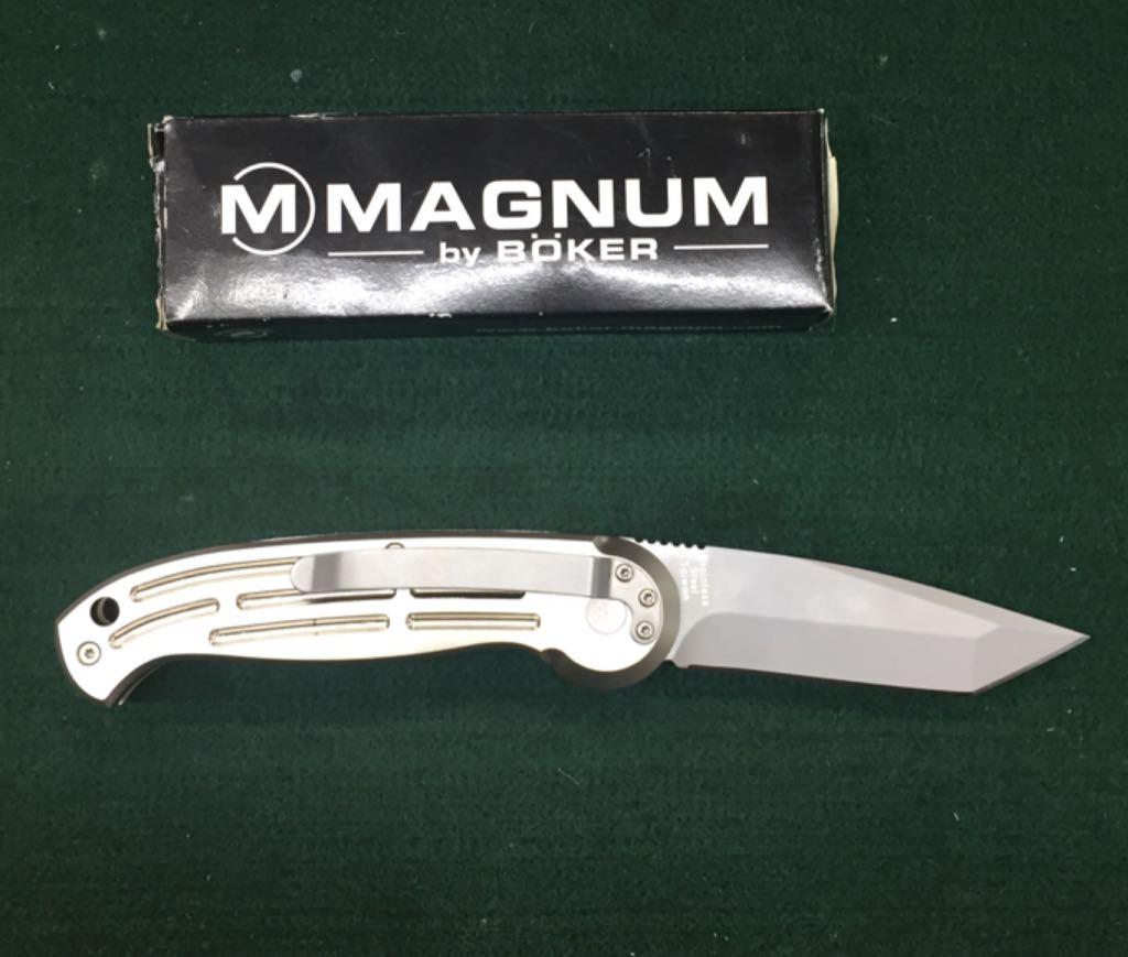 Magnum By Biker Knive And Sword - Lock Back Folder back image (back cover, second image)