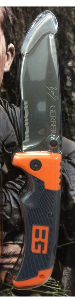 Gerber Scout Knive And Sword - Folding Knife (2011) front image (front cover)