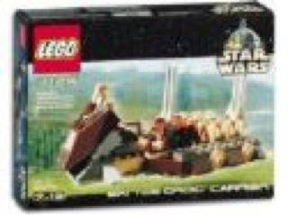 Battle Droid Carrier LEGO - Star Wars (7126) front image (front cover)