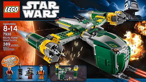 Bounty Hunter Assault Gunship LEGO - Star Wars (7930) front image (front cover)