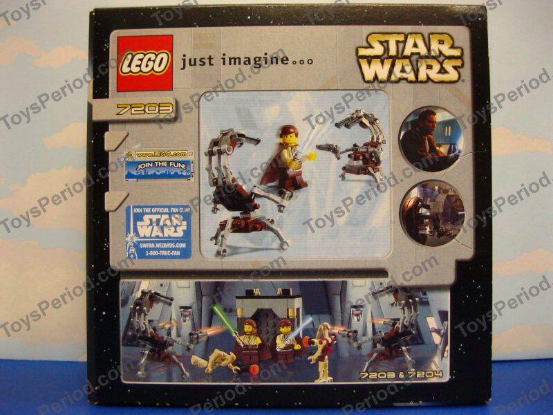 Jedi Defense 1 LEGO - Star Wars (7203) back image (back cover, second image)