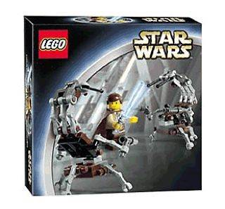 Jedi Defense 1 LEGO - Star Wars (7203) front image (front cover)