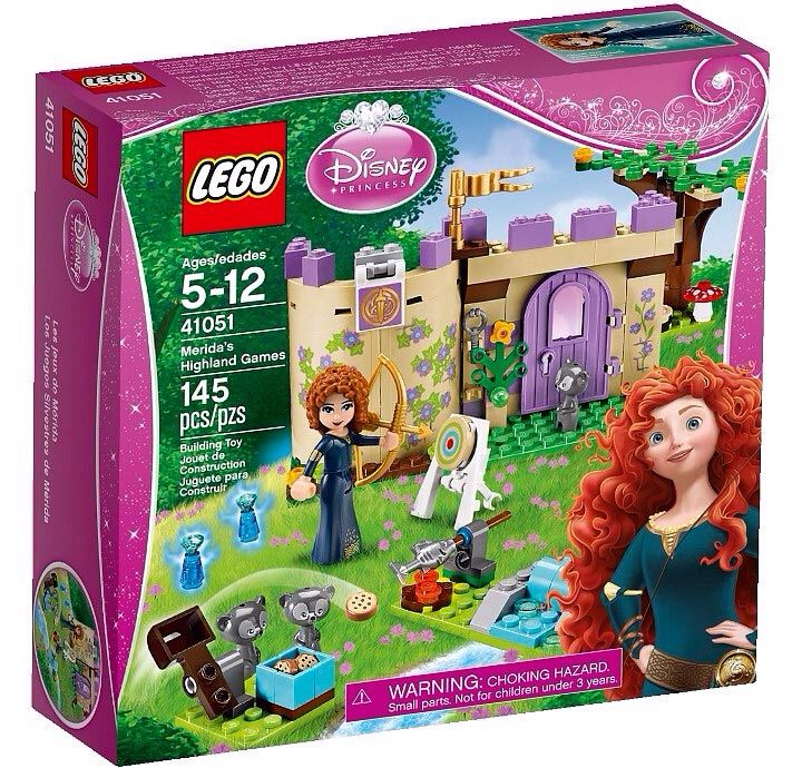 Disney LEGO - Disney Princesses (41051) front image (front cover)