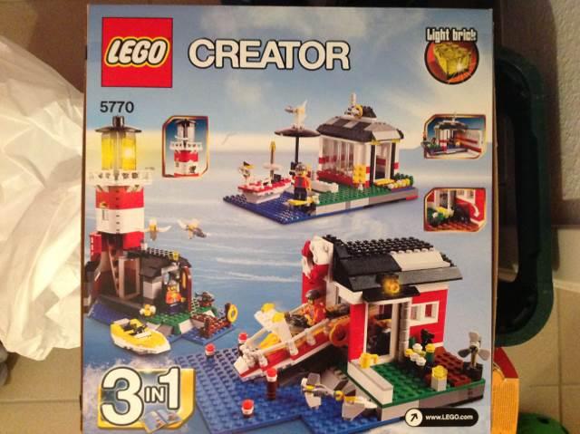 Creator LEGO - Creator (5770) back image (back cover, second image)