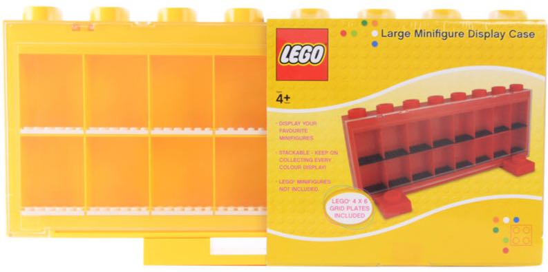 Lego Large Minifigure Display Case LEGO (0) front image (front cover)