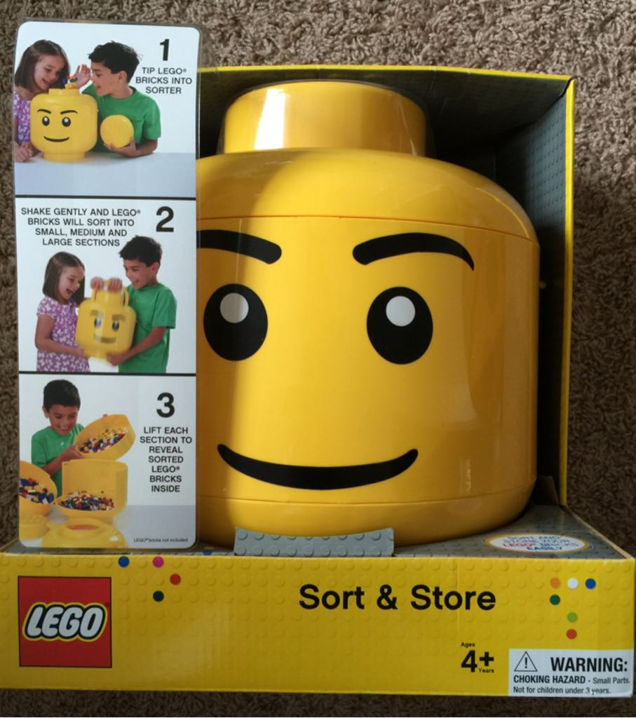 Lego Sort And Store LEGO (001) front image (front cover)
