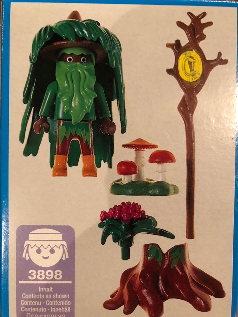 Play Mobile tree guy LEGO (3898) front image (front cover)