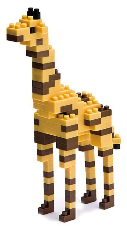 Giraffe LEGO - Nanoblock (NBC_006) front image (front cover)