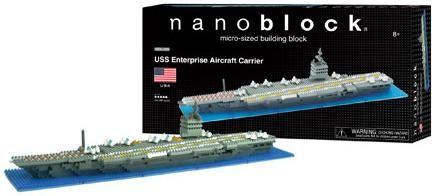 nanoblock uss enterprise aircraft carrier lego nanoblocks nba