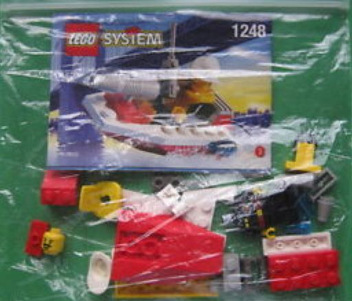 Fire Boat LEGO - City (1248) back image (back cover, second image)