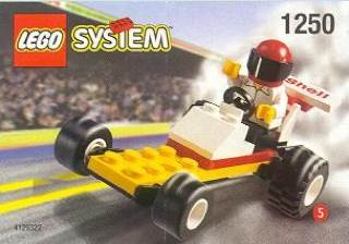 Dragster LEGO - City (1250) front image (front cover)