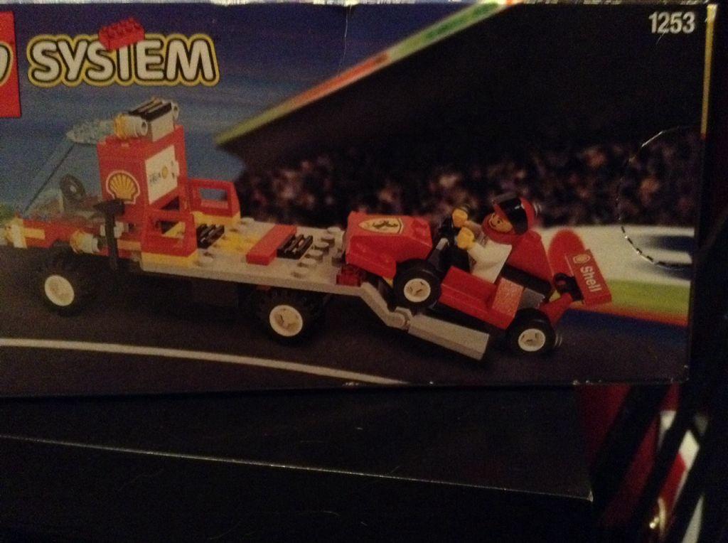 She'll Racer LEGO - City (1253) back image (back cover, second image)