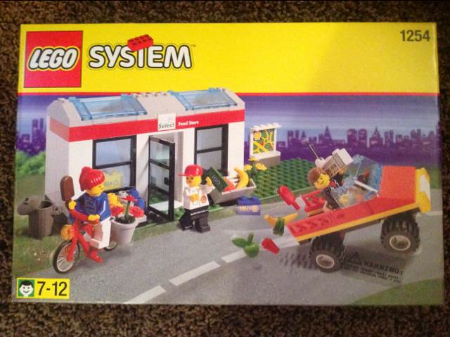 Convenience Store LEGO - City (1254) front image (front cover)