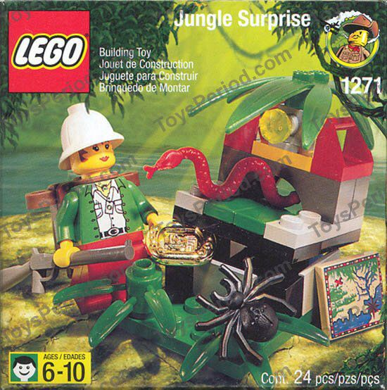 Jungle Surprise LEGO - Adventurers (1271) front image (front cover)