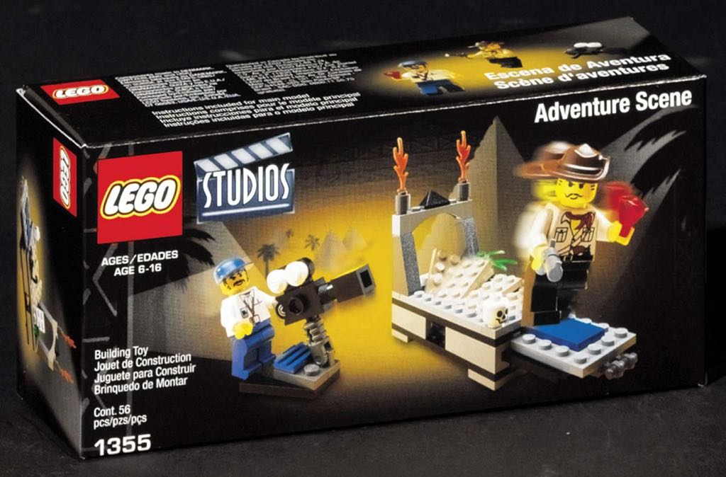 LEGO STUDIOS TEMPLE OF GLOOM LEGO - LEGO Studios (1355) front image (front cover)
