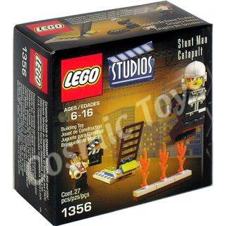 Stuntman Catapult New LEGO - Studios (1356) front image (front cover)