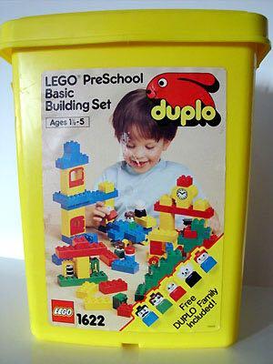 PreSchool Basic Building Set LEGO - Basic (1622) front image (front cover)