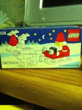 Santa LEGO - Seasonal (1127) front image (front cover)