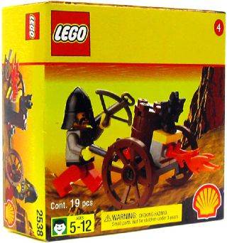 System Exclusive Shell Station Mini Figure2538 Crossbow Flamer Lego