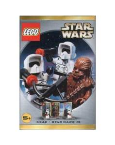 Lego Star Wars Chewbacca Biker Scout x2 Set LEGO (3342) front image (front cover)
