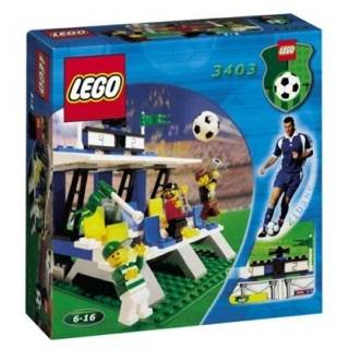 Soccer Fans Grandstand 3403 LEGO - Sports: Soccer front image (front cover)