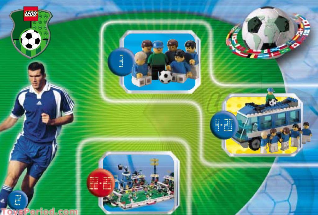 Team Transport LEGO - City (3406) back image (back cover, second image)