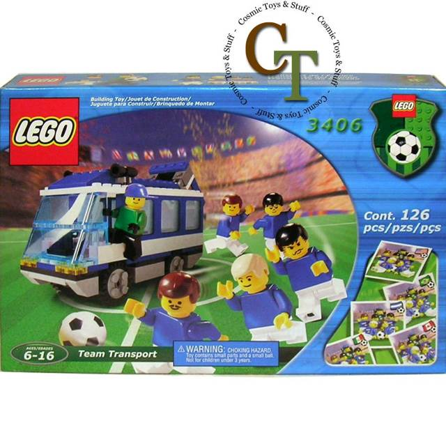 Team Transport LEGO - City (3406) front image (front cover)