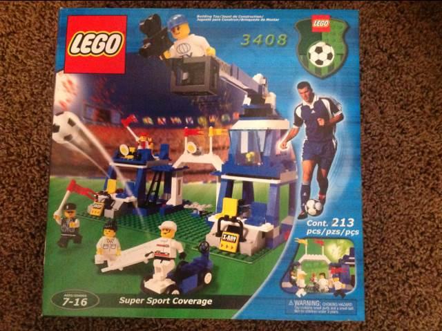 Super Sport Coverage LEGO - Soccer (3408) front image (front cover)