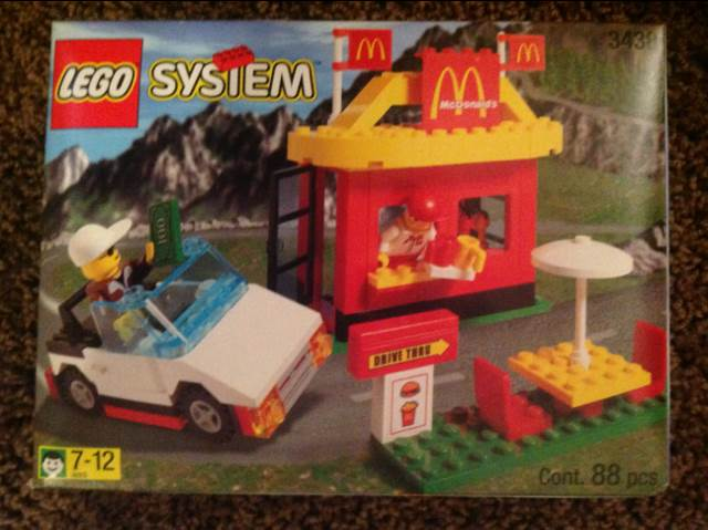 McDonald's LEGO - City (3438) front image (front cover)