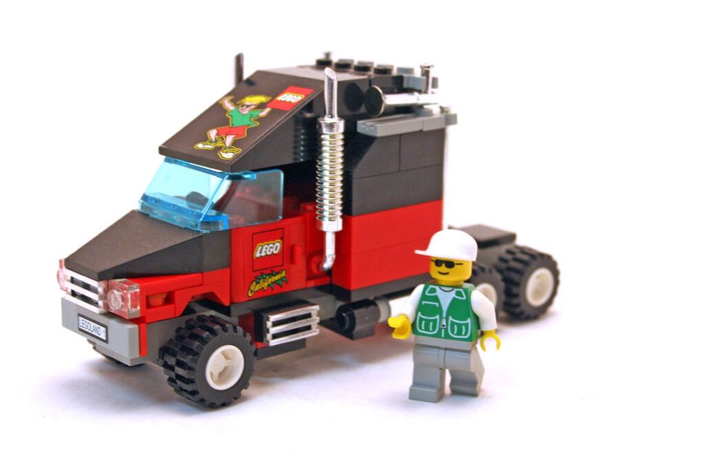 Legoland California Truck LEGO - City (3442) back image (back cover, second image)