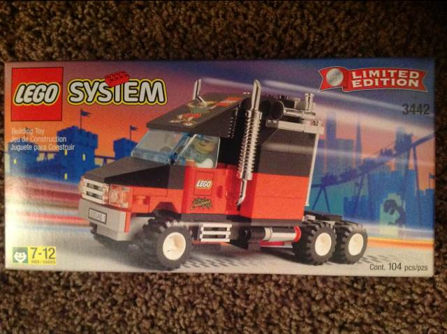 Legoland California Truck LEGO - City (3442) front image (front cover)